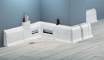 Соединитель CEZAR Premium стыковой матовый Белый М089