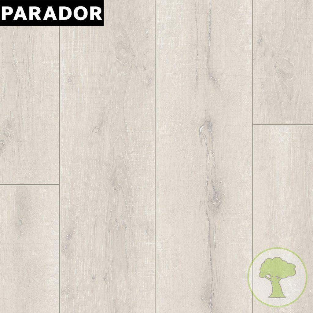 Ламинат PARADOR Classic 1050 4V Дуб Винтаж белый антик 1х 1601443 32/AC4 1285mmх194mmx8mm 10пл 2,493 м.кв/уп
