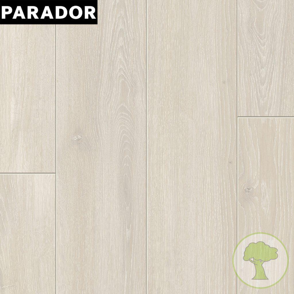 Ламинат PARADOR Classic 1050 4V Дуб Скайлайн белый 1х 1601447 32/AC4 1285mmх194mmx8mm 10пл 2,493 м.кв/уп