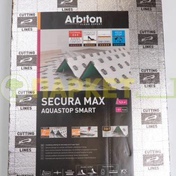 Подложка ARBITON SECURA MAX AQUASTOP SMART 5мм гармошка 5,5м²