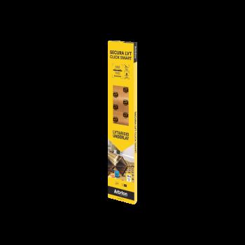 Подложка под замковые виниловые полы ARBITON SECURA LVT click smart 1.5мм гармошка 6.25м²
