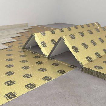 Подложка под замковые виниловые полы ARBITON SECURA LVT FASTLAY SMART 1мм гармошка 6.25м²