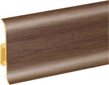 Плинтус пластиковый CEZAR Premium матовый Hikory М106