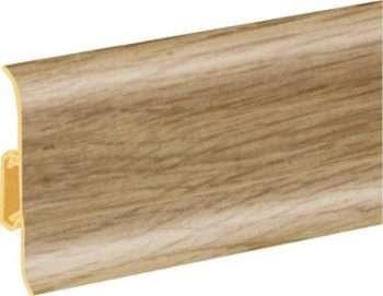 Плинтус пластиковый CEZAR Premium матовый Тайский бамбук М116