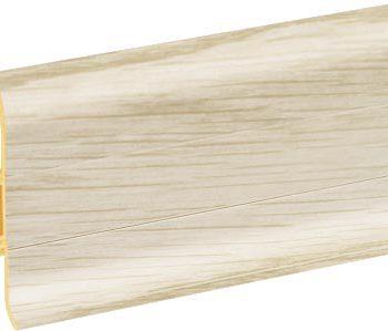 Плинтус пластиковый CEZAR Premium матовый Ясень Baltimor М142