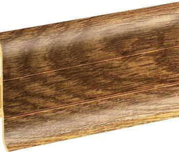 Плинтус пластиковый CEZAR Premium матовый Дуб Bagienny М156