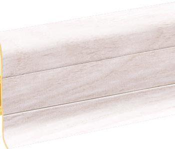 Плинтус пластиковый CEZAR Premium матовый Ясень Kaukaski М159