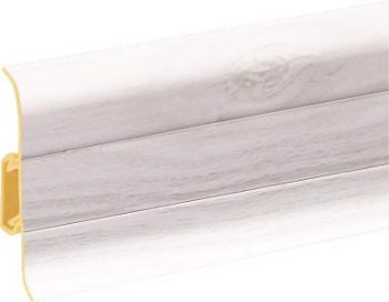 Плинтус пластиковый CEZAR Premium матовый Дуб Aspen М163