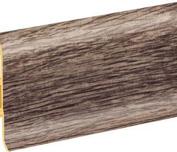 Плинтус пластиковый CEZAR Premium матовый Дуб Skalisty М212