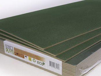 Подложка древесно волокнистая под ламинат и паркет ISOPLAAT 7,4мм 1200x600