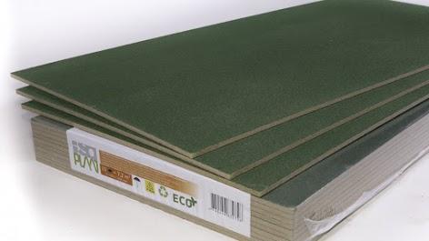 Подложка древесно волокнистая под ламинат и паркет ISOPLAAT 10мм 1200x600