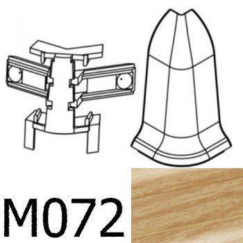 Соединитель угловой внешний CEZAR Premium матовый Тик М072