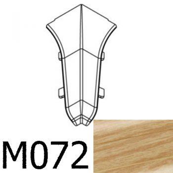 Соединитель угловой внутренний CEZAR Premium матовый Тик М072