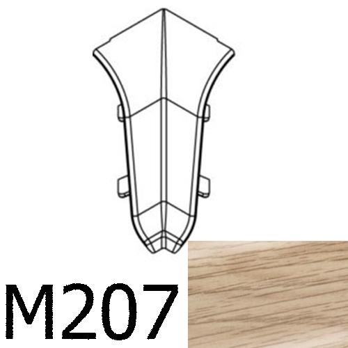 Соединитель угловой внутренний CEZAR Premium матовый Дуб Sude М207