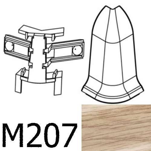Соединитель угловой внешний CEZAR Premium матовый Дуб Sude М207