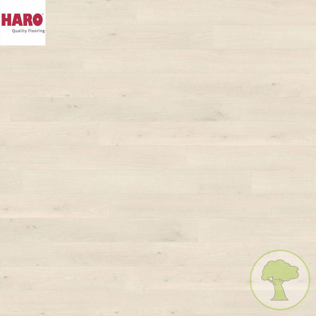 Ламинат HARO LOFT 4V Дуб Эмилия белый 538716 (1282 х 135 х 8 мм; 1,38 кв.м)
