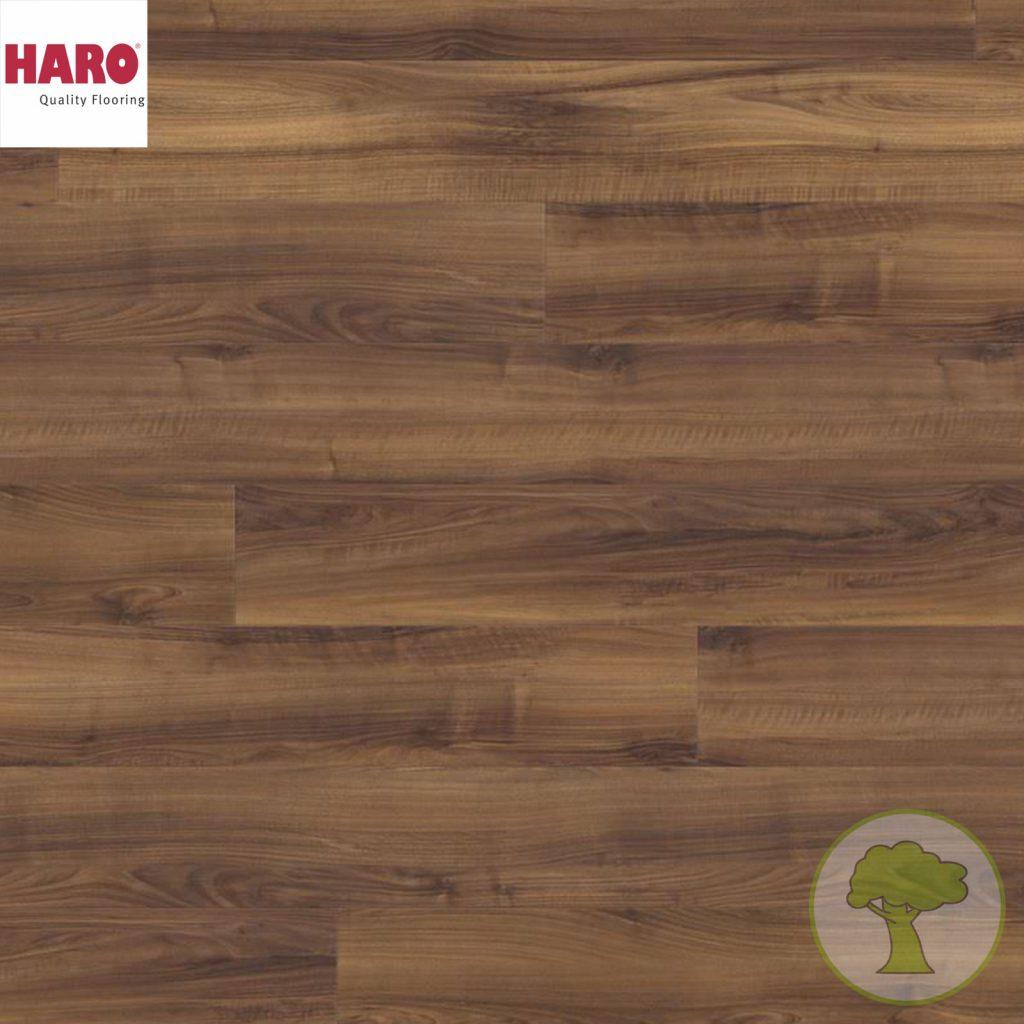 Ламинат HARO GRAN VIA 4V Итальянский орех 526714 32кл. 2200mmх243mmх8mm 5 планок 2,68 кв.м/уп