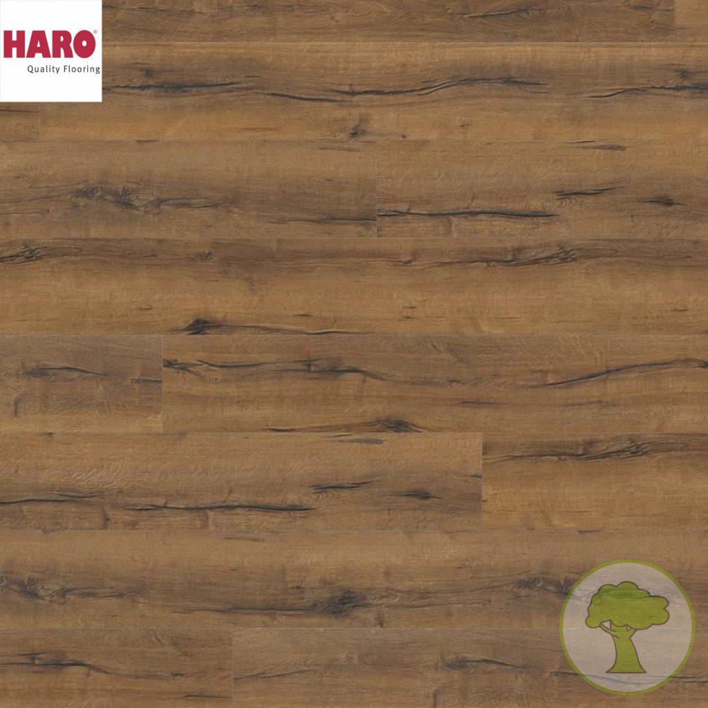 Ламинат HARO GRAN VIA 4V Дуб Италика Дымчатый 1х 530333 32кл. 2200mmх243mmх8mm 5 планок 2,68 кв.м/уп