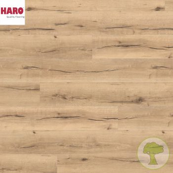 Ламинат HARO GRAN VIA 4V Дуб Италика Кремовый 530693 32кл. 2200mmх243mmх8mm 5 планок 2,68 кв.м/уп