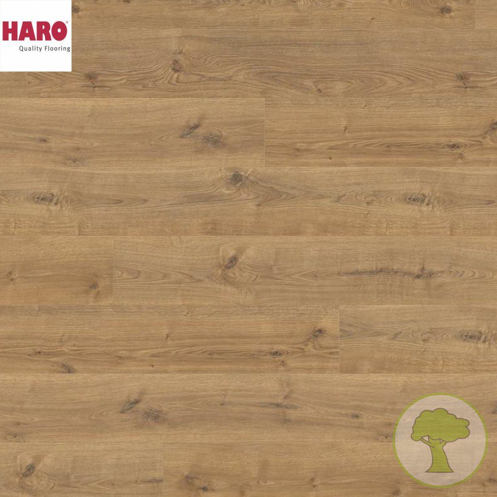 Ламинат HARO GRAN VIA 4V Дуб Portland Nature 533141 32кл. 2200mmх243mmх8mm 5 планок 2,68 кв.м/уп