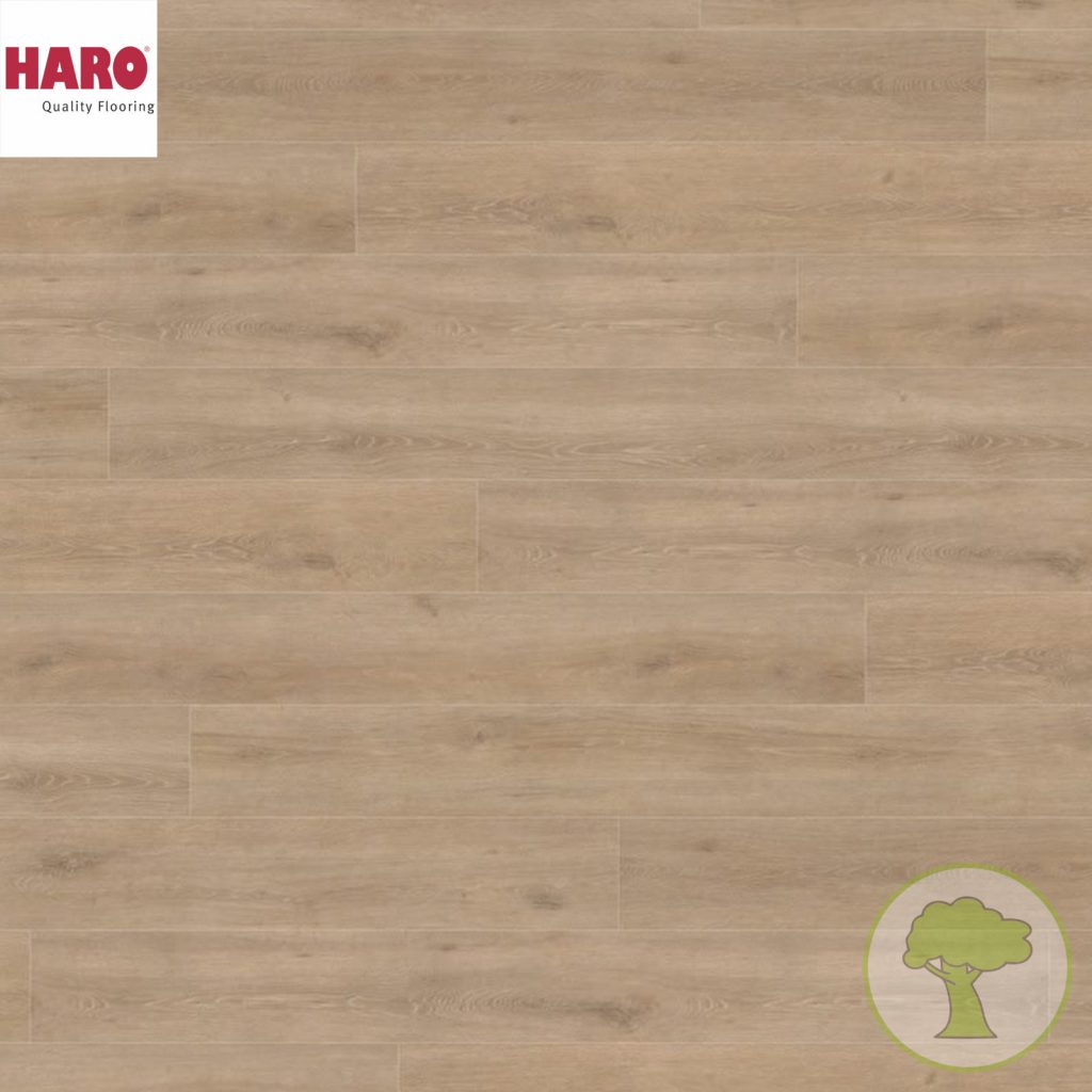 Ламинат HARO GRAN VIA 4V Венетто кремовый 535269 32кл. 2200mmх243mmх8mm 5 планок 2,68 кв.м/уп
