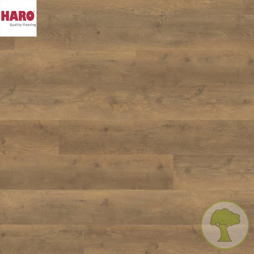 Ламинат HARO GRAN VIA 4V Дуб Бергамо натур 538766 32кл. 2200mmх243mmх8mm 5 планок 2,68 кв.м/уп
