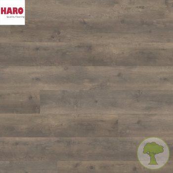 Ламинат HARO GRAN VIA 4V Дуб Бергамо карбон 538767 32кл. 2200mmх243mmх8mm 5 планок 2,68 кв.м/уп