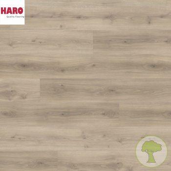 Ламинат HARO GRAN VIA 4V Дуб Эмилия бархатносерый 538770 32кл. 2200mmх243mmх8mm 5 планок 2,68 кв.м/уп