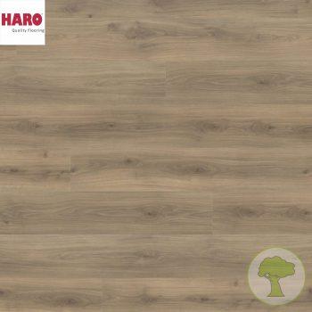 Ламинат HARO GRAN VIA 4V Дуб Эмилия бархат коричневый 538771 32кл. 2200mmх243mmх8mm 5 планок 2,68 кв.м/уп