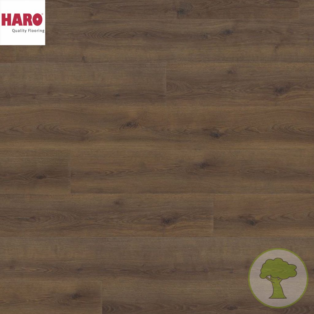 Ламинат HARO GRAN VIA 4V Дуб Контура дымчатый 538773 32кл. 2200mmх243mmх8mm 5 планок 2,68 кв.м/уп