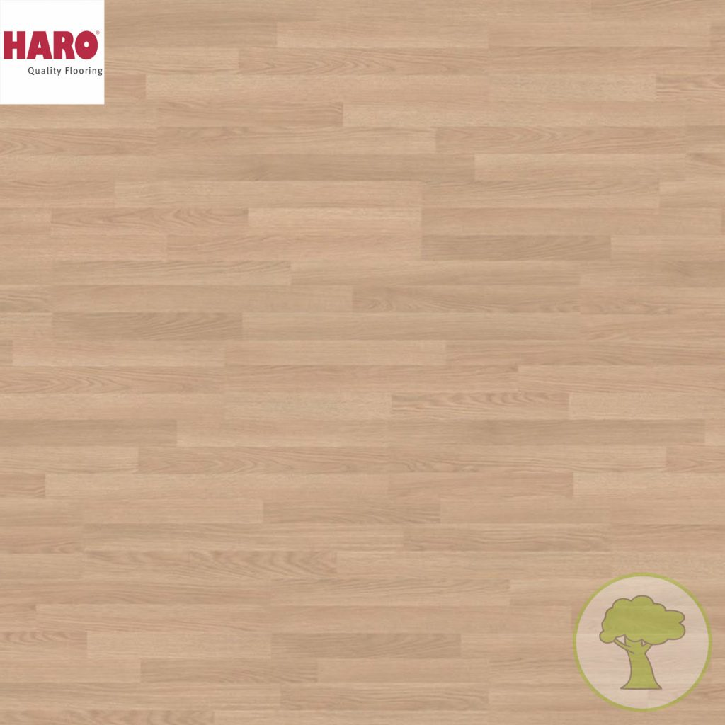 Ламинат HARO Tritty 100 Дуб премиум кремовый 526661 32кл. 1282mmx193mmx8mm 8планок 1,98 кв.м/уп