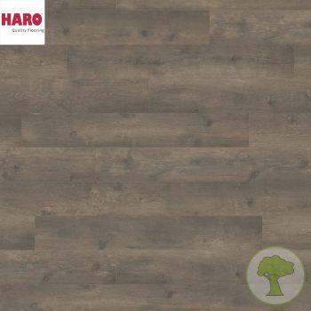 Ламинат HARO Tritty 100 4V Дуб Бергамо карбон 538694 32кл. 1282mmx193mmx8mm 8планок 1,98 кв.м/уп
