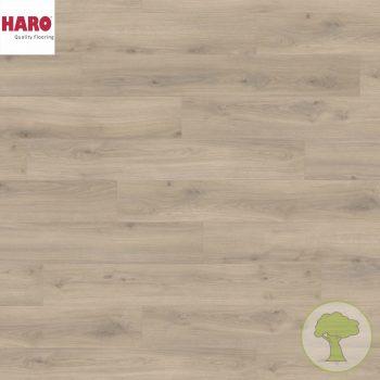 Ламинат HARO Tritty 100 4V Дуб Эмилия бархат серый 538695 32кл. 1282mmx193mmx8mm 8планок 1,98 кв.м/уп