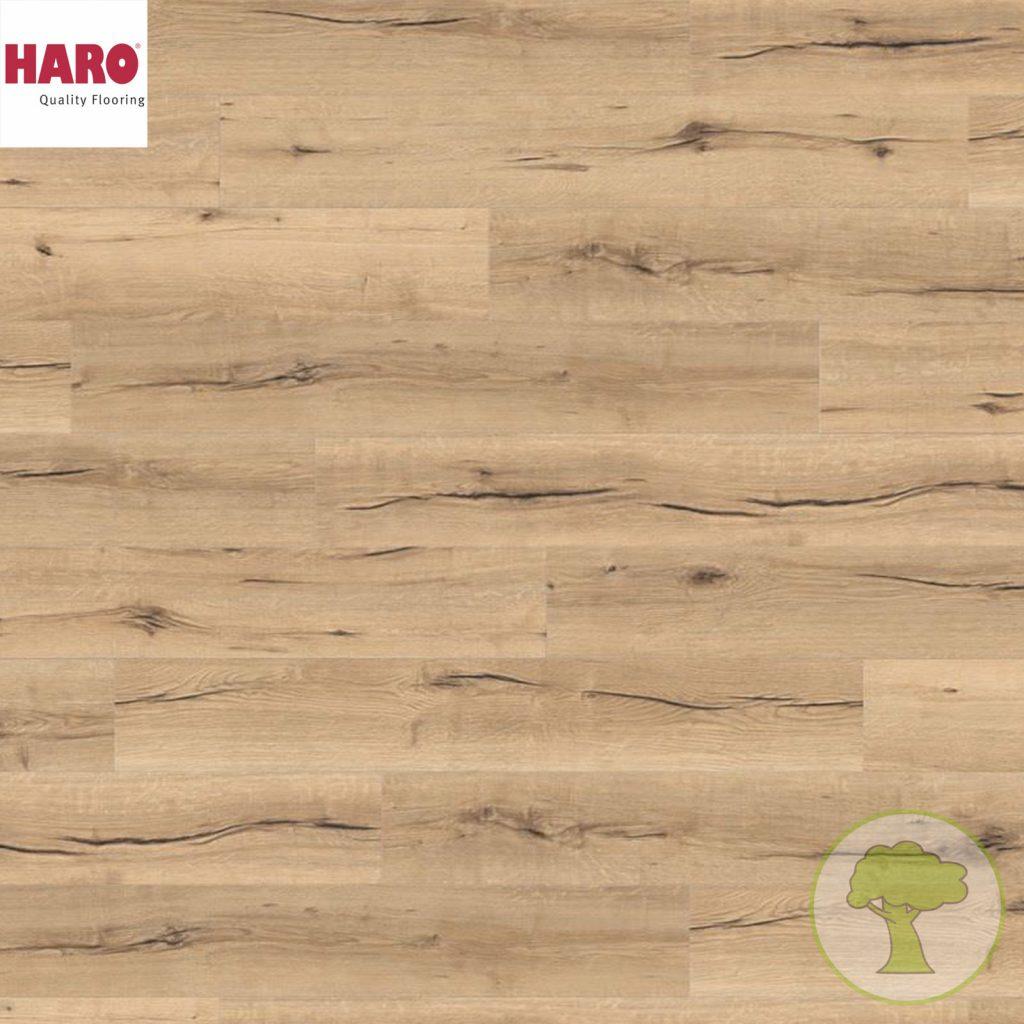Ламинат HARO Tritty 100 4V Дуб Италика кремовый 538920 32кл. 1282mmx193mmx8mm 8планок 1,98 кв.м/уп