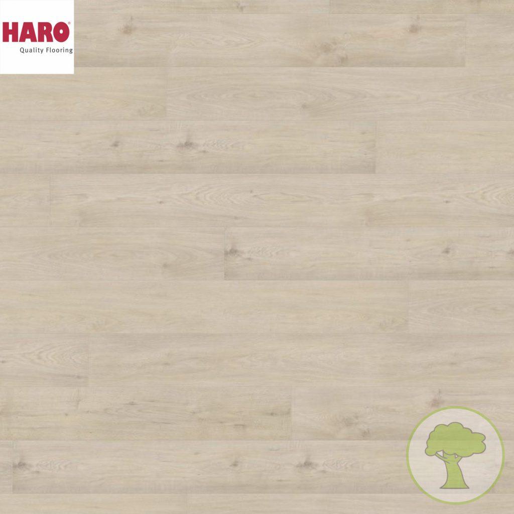 Ламинат HARO TRITTY 200 Aqua GRAN VIA 537374 Дуб Сицилия белый 4V 33кл/AC5 2200mmx243mmx8mm 5планок 2,68 м.кв./уп