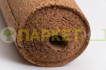 Натуральная пробковая подложка GRANORTE 2мм рулон 15м²
