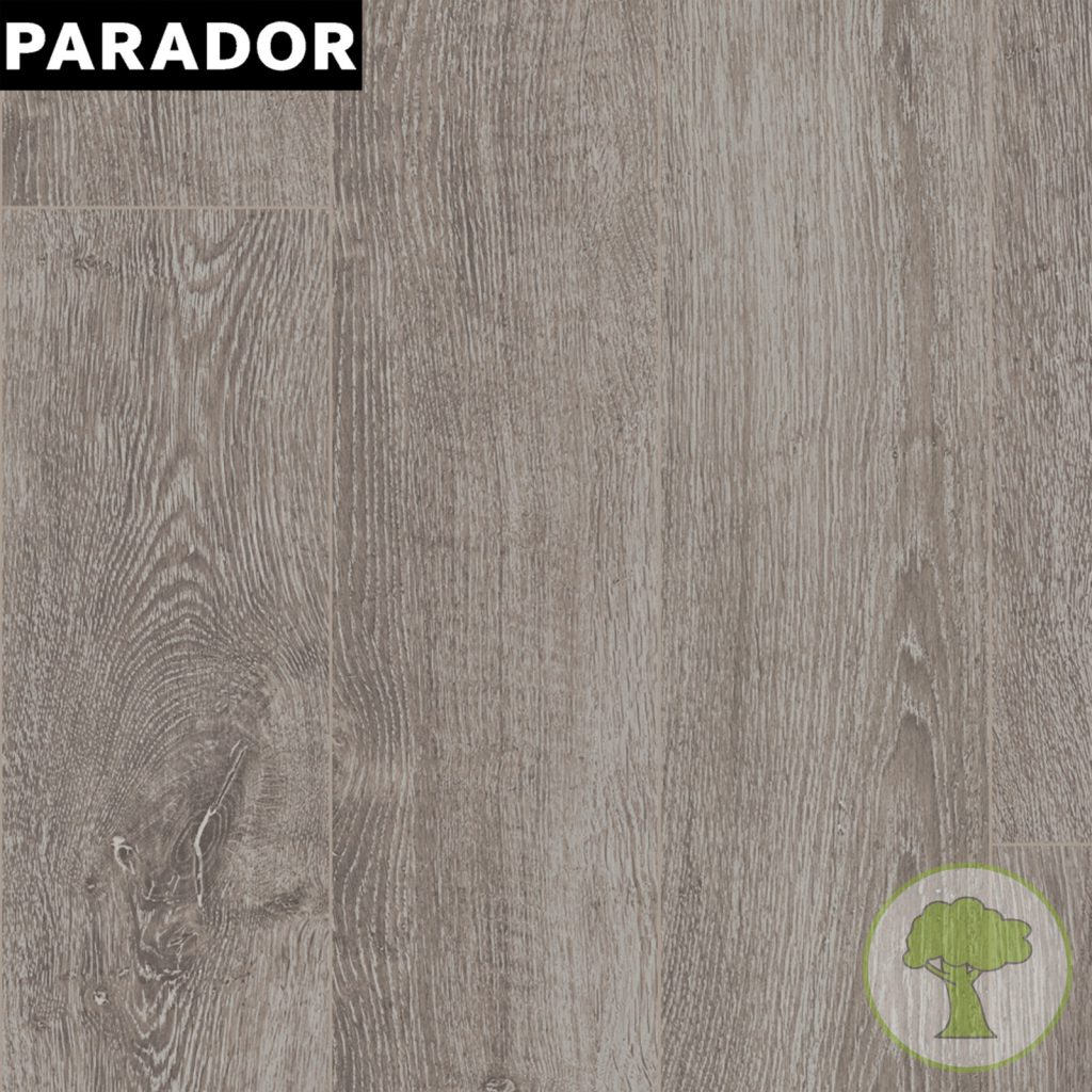 Ламинат Parador Basic 400 4V Дуб светло-серый 1х 1426530 32/AC4 1285mmх194mmх8mm 10пл 2,493 м.кв/уп