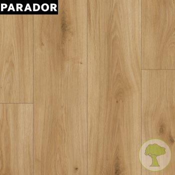 Ламинат Parador Basic 400 4V Дуб Горизонт натуральный матовый 1х 1593797 32/AC4 1285mmх194mmх8mm 10пл 2,493 м.кв/уп