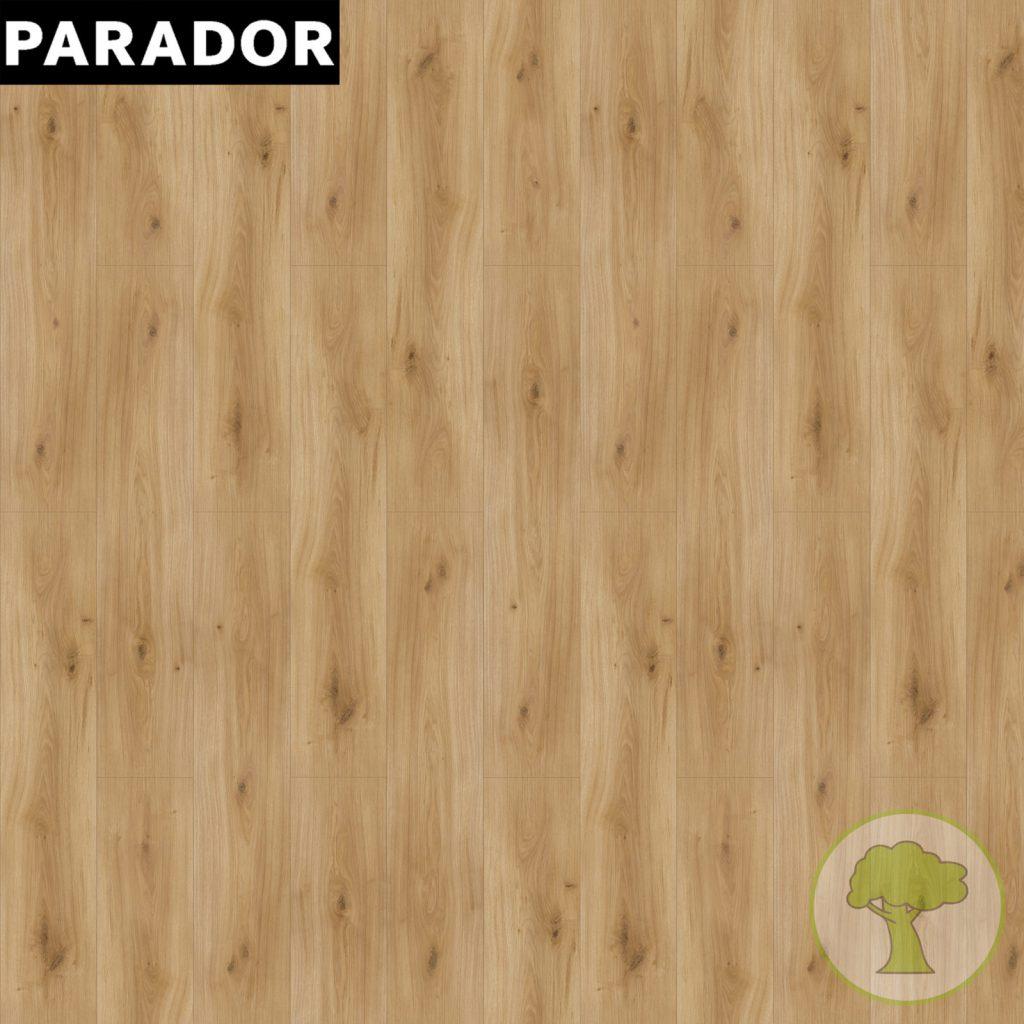 Ламинат Parador Basic 400 V0 Дуб Горизонт натуральный матовый 1х 1593813 32/AC4 1285mmх194mmх8mm 10пл 2,493 м.кв/уп