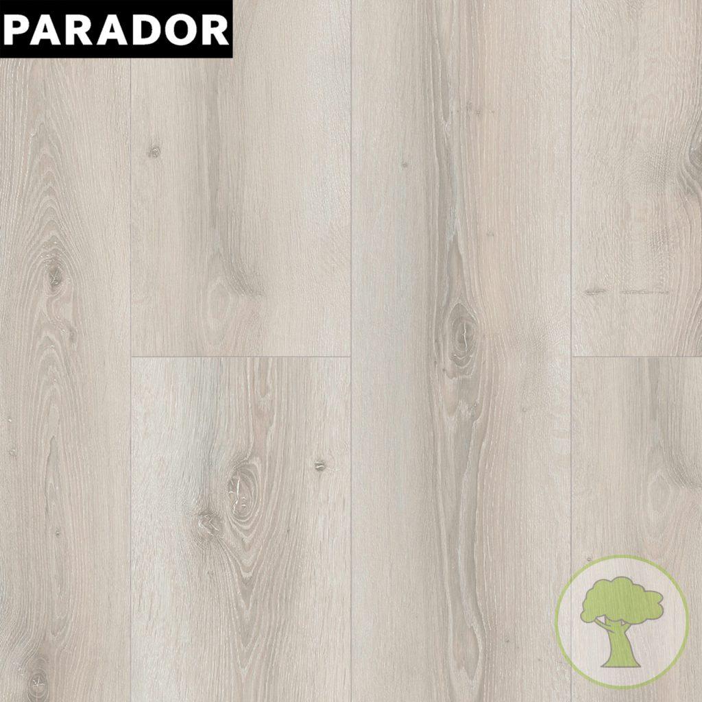 Ламинат Parador Basic 600 4V Дуб Аскада белый выбеленный 1х 1593828 32/AC4 1285mmx243mmx8mm 7 пл 2,186 м.кв/уп
