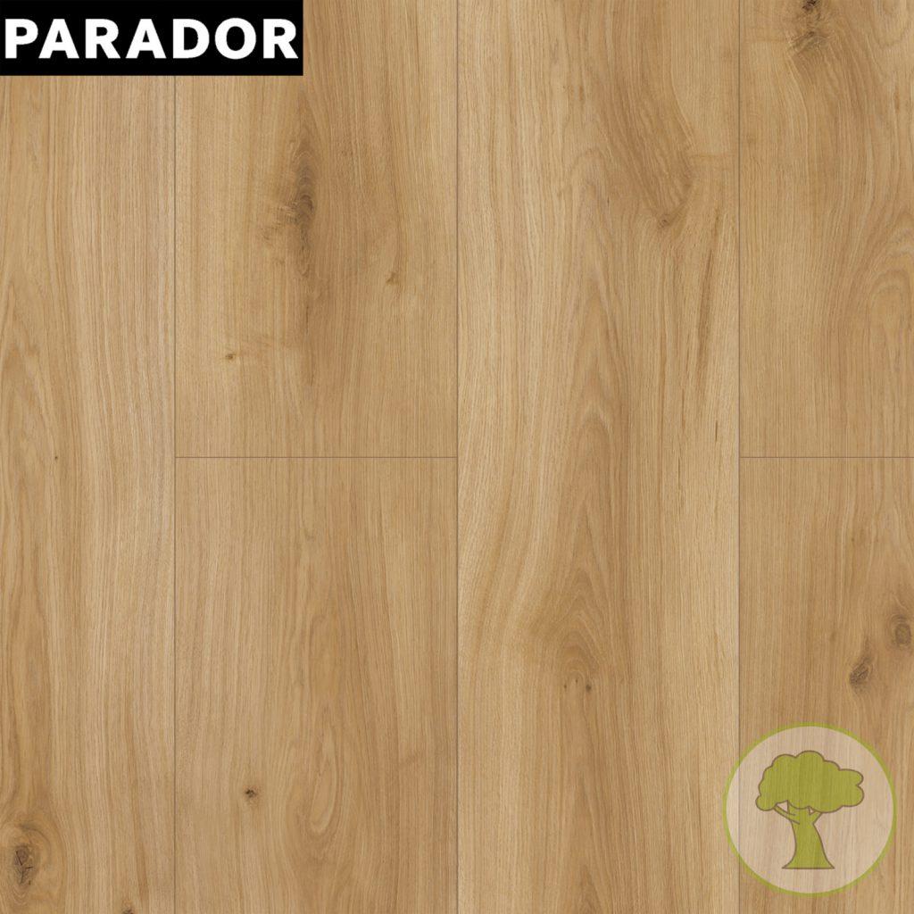 Ламинат Parador Basic 600 4V Дуб Горизонт натуральный 1x 1593845 32/AC4 1285mmx243mmx8mm 7 пл 2,186 м.кв/уп