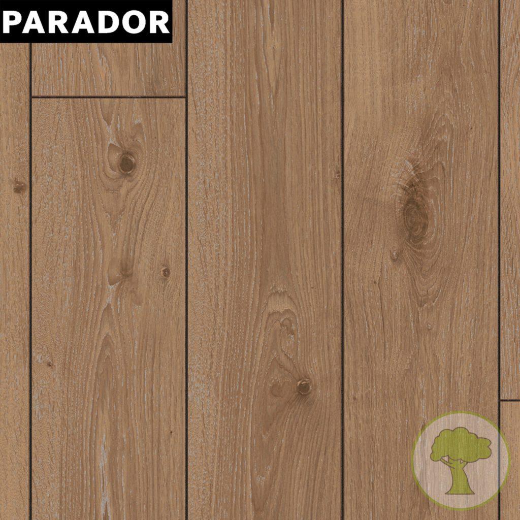 Ламинат PARADOR Classic 1050 4V Дуб мелованый темный 1х 1475601 32/AC4 1285mmх194mmx8mm 10пл 2,493 м.кв/уп