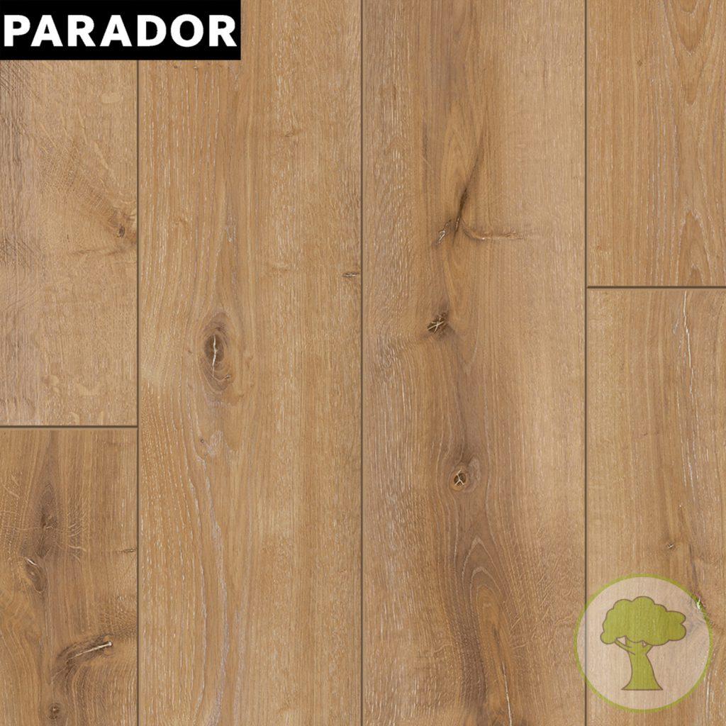 Ламинат PARADOR Classic 1050 4V Дуб Monterey легко-выбеленный 1х 1517684 32/AC4 1285mmх194mmx8mm 10пл 2,493 м.кв/уп