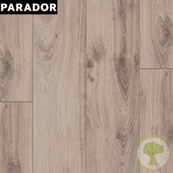 Ламинат PARADOR Classic 1050 4V Дуб традиция серо-бежевый 1х 1517691 32/AC4 1285mmх194mmx8mm 10пл 2,493 м.кв/уп
