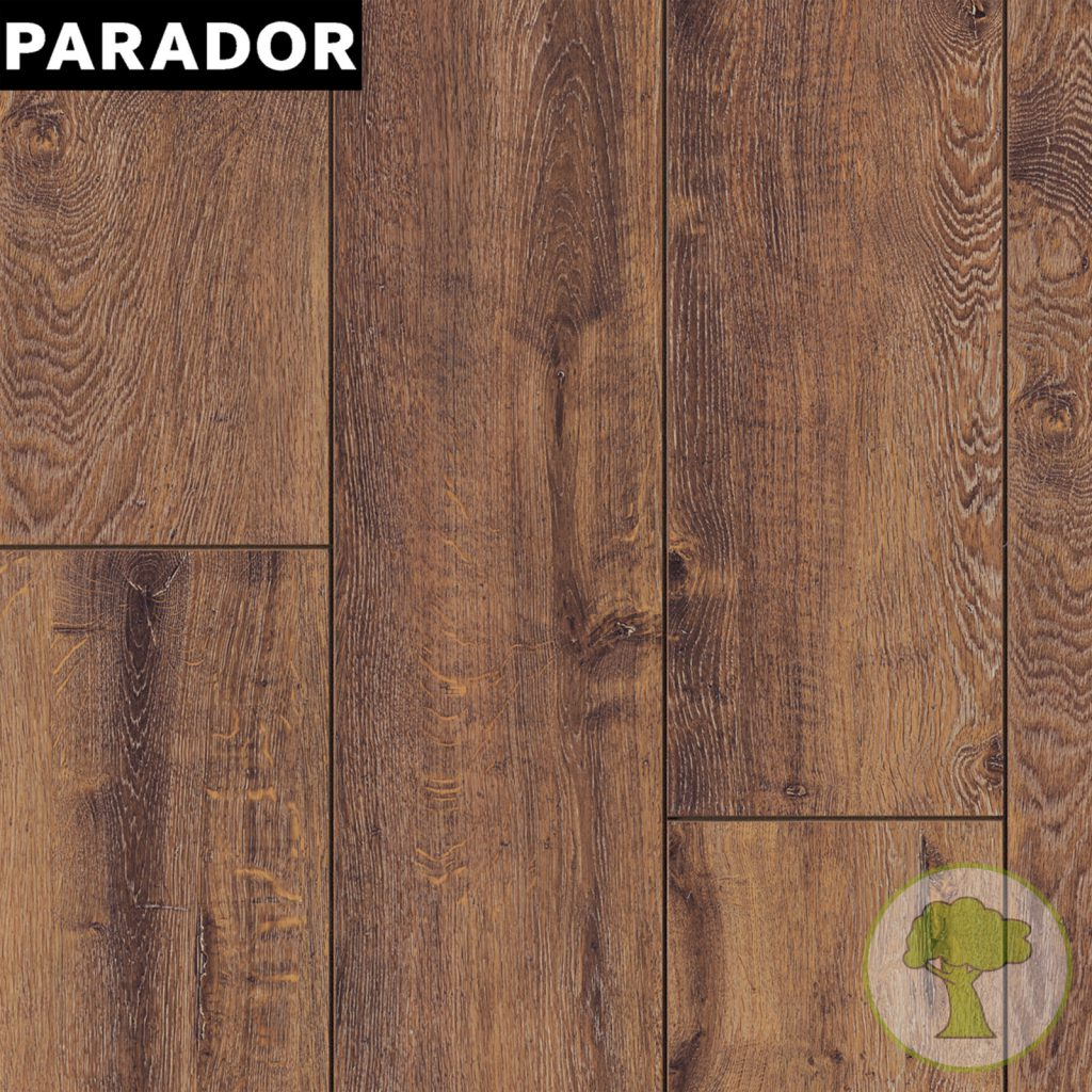Ламинат PARADOR Trendtime 6 4V Дуб коньяк 1254825 32/AC4 2200mmх243mmx9mm 5пл 2,673 м.кв/уп