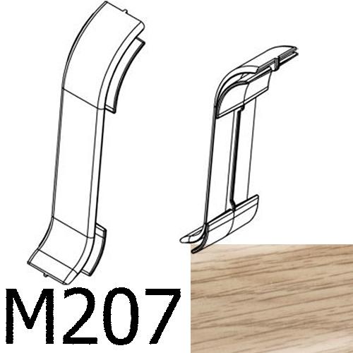Соединитель CEZAR Premium стыковой матовый Дуб Sude М207
