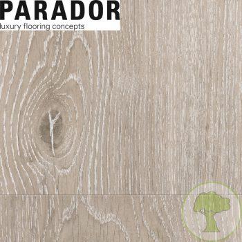 Виниловый пол PARADOR Classic 2030 Дуб Рояль Белый выбеленый браш 1513465 23/33 1207mmх216mmх9,6mm 7пл 1,825м²/уп