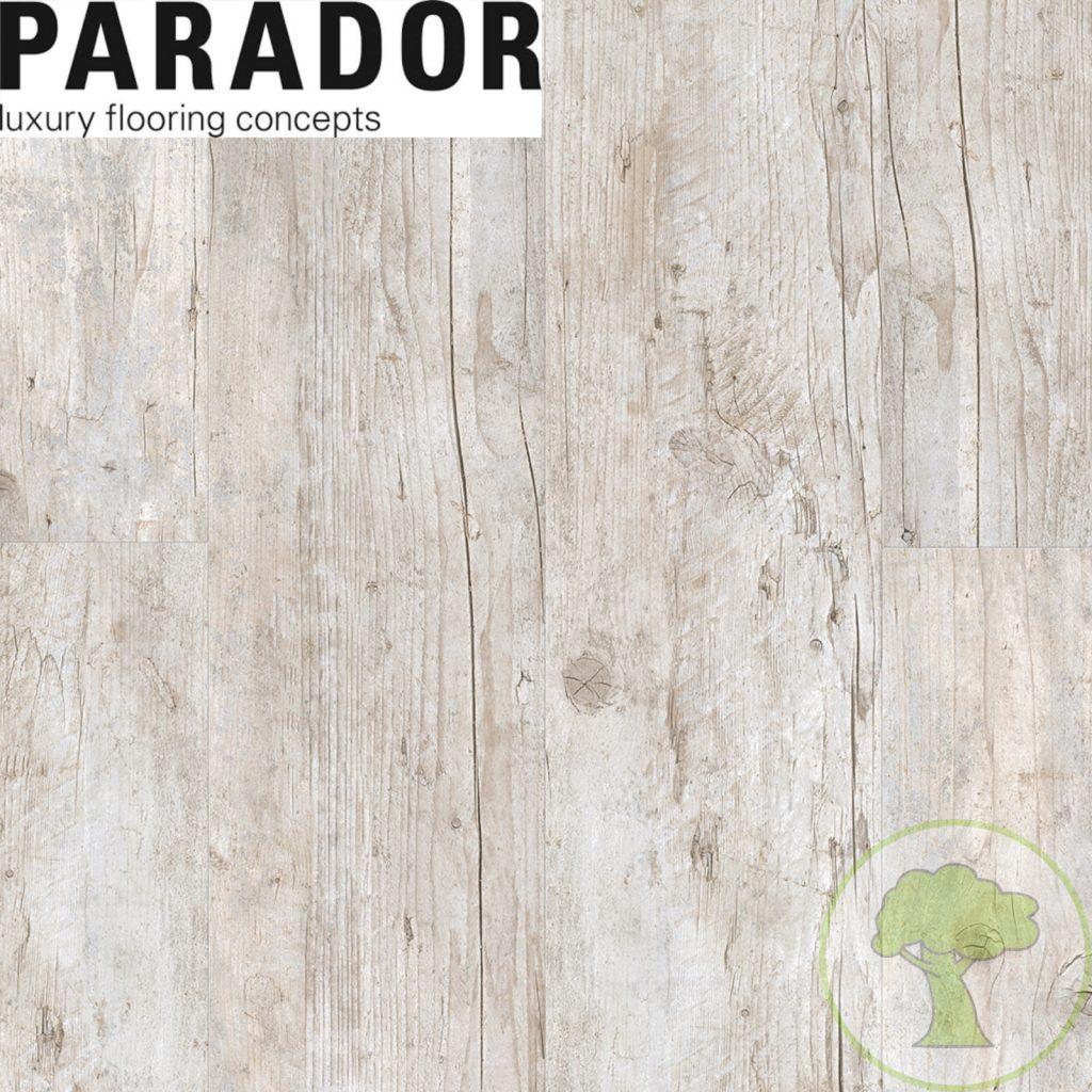 Виниловый пол PARADOR Classic 2030 Старое дерево выбеленый 1513466 23/33 1207mmх216mmх9,6mm 7пл 1,825м²/уп