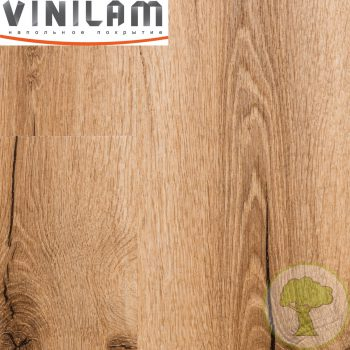 Виниловый ламинат Vinilam Click 3.7mm 18222 Дуб Марбург 43кл 4Vmicro 1219mmх184mmх3.7mm 14пл. 3.15м2/уп