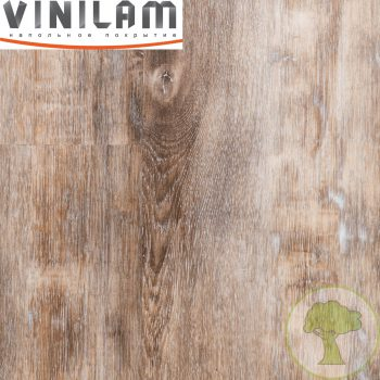 Виниловый ламинат Vinilam Click 3.7mm 511003 Дуб Ульм 43кл 4Vmicro 1219mmх184mmх3.7mm 14пл. 3.15м2/уп